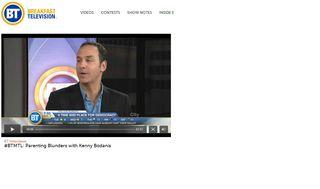 Breakfast Television Screen Grab