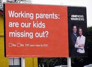 Wokring Parent Poster